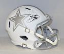 Emmitt Smith Autographed Dallas Cowboys F/S ICE Speed Helmet- JSA Witnessed Auth