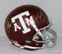 Michael Bennett Martellus Bennett Signed Texas A&M Aggies F/S Helmet- JSA W Auth
