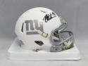 Michael Strahan Autographed New York Giants ICE Speed Mini Helmet- JSA W Auth