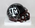 Johnny Manziel Heisman Autographed Texas A&M Hydro Speed Mini Helmet- JSA W Auth