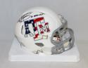 Johnny Manziel Heisman Signed Texas A&M Stars and Stripes Mini Helmet-JSA W Auth