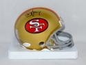 Steve Young Autographed San Francisco 49ers Mini Helmet- JSA Witnessed Auth