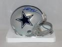 Deion Sanders Autographed Dallas Cowboys Mini Helmet- JSA Witnessed Auth