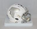 Deion Sanders Autographed Atlanta Falcons ICE Speed Mini Helmet- JSA W Auth