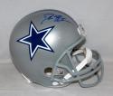 Deion Sanders Autographed *Blue Dallas Cowboys F/S Helmet- JSA Witnessed Auth