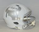 DeAndre Hopkins Autographed *CTR Houston Texans F/S ICE Speed Helmet- JSA W Auth