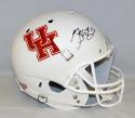 Greg Ward Autographed University of Houston Cougars F/S White Helmet- JSA W Auth