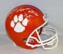 DeAndre Hopkins Autographed Clemson Tiger F/S Helmet W/ Nuk- JSA Witnessed Auth