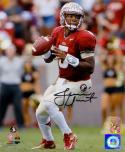 Jameis Winston Autographed Seminoles 8x10 Passing PF Photo- Winston Hologram