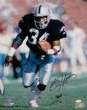 Bo Jackson Autographed Oakland Raiders 16x20 Running PF. Photo- JSA W Auth