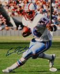 Earl Campbell Autographed Houston Oilers 8x10 Running Photo- JSA W Authenticated