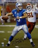 Matthew Stafford Autographed Lions 16x20 Passing Against KC Photo- JSA W Auth