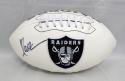 Marcus Allen Autographed Oakland Raiders Logo Football- JSA Authenticated