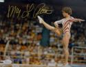 Mary Lou Retton Autographed Team USA 8x10 On Balance Beam Photo- JSA W Auth