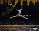 Mary Lou Retton Autographed Team USA 8x10 In Air Photo- JSA Witnessed Auth