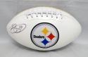 Brett Keisel Autographed Pittsburgh Steelers Logo Football- JSA W Authenticated