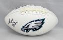 Seth Joyner Autographed Philadelphia Eagles Logo Football- JSA Witnessed Auth