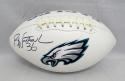 Brian Westbrook Autographed Philadelphia Eagles Logo Football- JSA W Auth