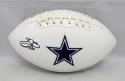 Emmitt Smith Autographed Dallas Cowboys Logo Football- Beckett Authenticated