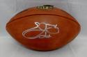 Emmitt Smith Autographed NFL Wilson Football- Beckett Authenticated