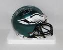 Donovan McNabb Autographed Philadelphia Eagles Mini Helmet- JSA Witnessed Auth