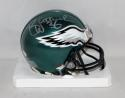 Brian Westbrook Autographed Philadelphia Eagles Mini Helmet- JSA Witnessed Auth