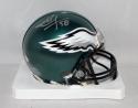 Seth Joyner Autographed Philadelphia Eagles Mini Helmet- JSA Witnessed Auth