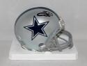 Emmitt Smith Autographed *Black Dallas Cowboys Mini Helmet-Beckett Authenticated