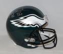 Brian Westbrook Autographed *Silver Philadelphia Eagles F/S Helmet- JSA W Auth