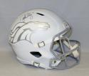 John Elway Autographed Denver Broncos ICE Speed F/S Helmet- JSA W Authenticated