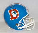 Terrell Davis Autographed Denver Broncos F/S TB Helmet With HOF- JSA W Auth