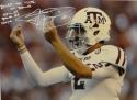 Johnny Manziel Autographed Texas A&M 16x20 Money Sign Photo W/ Rolled the Tide- JSA W Auth