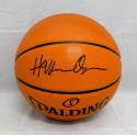 Hakeem Olajuwon Autographed *Black Official NBA Spalding Basketball- JSA W Auth