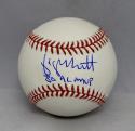 George Brett Autographed Rawlings OML Baseball With AL MVP- Beckett Auth
