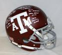 Johnny Manziel Signed Texas A&M Maroon F/S Authentic Helmet W/Awards- JSA W Auth