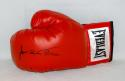James Toney Autographed Red Everlast Boxing Glove- JSA Witnessed Auth