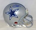 Emmitt Smith Autographed *Blue Dallas Cowboys F/S Authentic Helmet- Beckett Auth