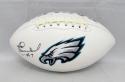 Harold Carmichael Autographed Philadelphia Eagles Logo Football- JSA W Auth