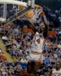 Hakeem Olajuwon Houston Autographed 16x20 2 Handed Dunk Photo- JSA W Auth