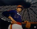 Nolan Ryan Autographed 16x20 Inside Astrodome *Jersey Photo- JSA W Authenticated