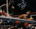 Buster Douglas Autographed 16x20 Tyson KO Photo- JSA W Authenticated
