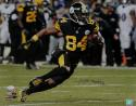 Antonio Brown Autographed *Blue Steelers 16x20 Running PF Photo- JSA W Auth