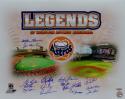 Houston Astros Legends Autographed 16x20 16 Sigs *Blue Photo- Tristar Auth