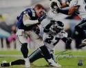 Jason Witten Autographed Cowboys 16x20 Helmet Off vs Eagles Photo- JSA W Auth