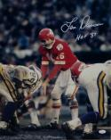 Len Dawson Signed Chiefs 16x20 Against Vikings Photo w/HOF *White-JSA W Auth