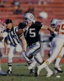 Howie Long Autographed Raiders 16x20 Against Chiefs *Bottom Photo- JSA W Auth