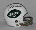 Joe Namath Autographed F/S New York Jets TK Helmet- JSA W Authenticated