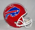 Thurman Thomas Autographed *White Buffalo Bills F/S Helmet With HOF- JSA W Auth