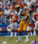 Nolan Cromwell Autographed Los Angeles Rams 8x10 Vertical P.F. Photo- JSA W Auth