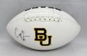 Corey Coleman Autographed Baylor Bears Logo Football- JSA Witnessed Auth